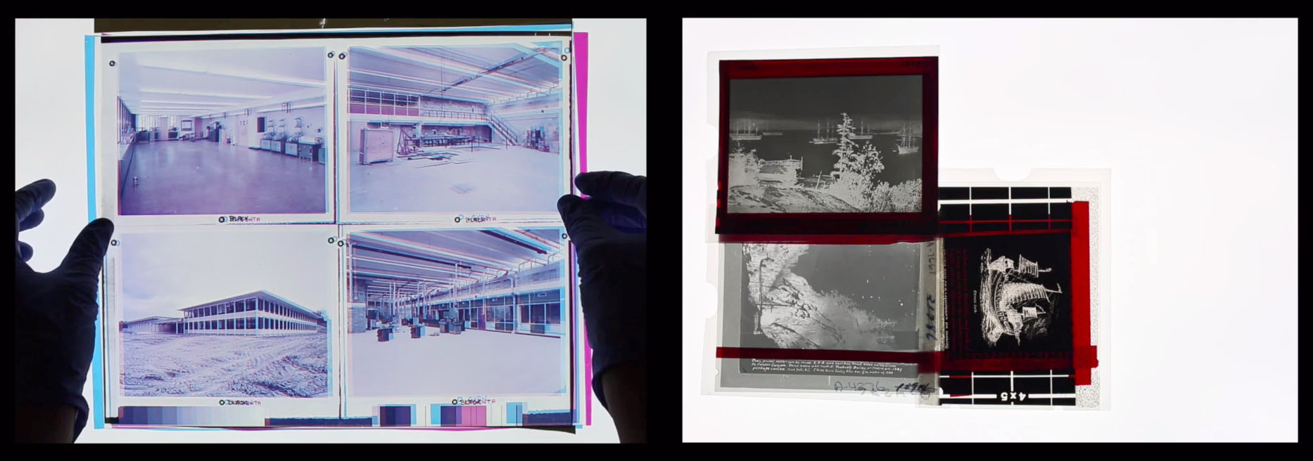 Kate Hennessy and Trudi Lynn Smith video showing anarchival materiality in archives